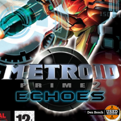 Metroid Prime 2 Echoes - GC Game