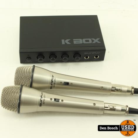 Sunfly K Box SFA-108 Karaoke Set