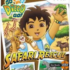 Go Diego Go Safari - Wii Game