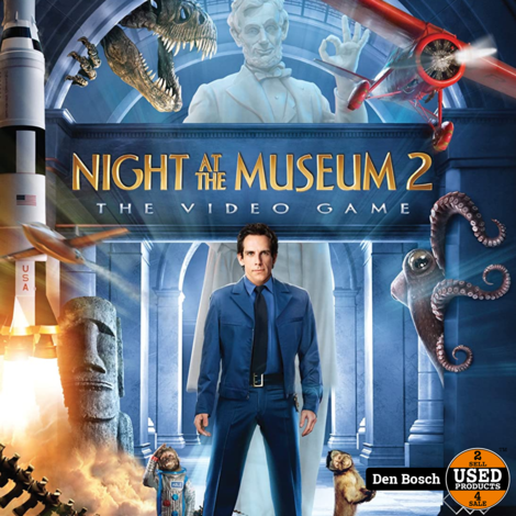 Night at The Museum 2 - Wii Game
