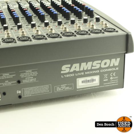 Samson L1200 12-Kanaals Mengpaneel