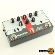 Hartke Bass Attack 2 DI Box met Preamp en Overdrive