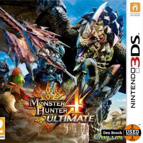 Monster Hunter 4 Ultimate - 3DS Game