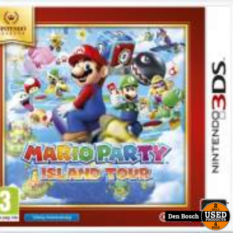 Mario party Island Tour - 3DS Game