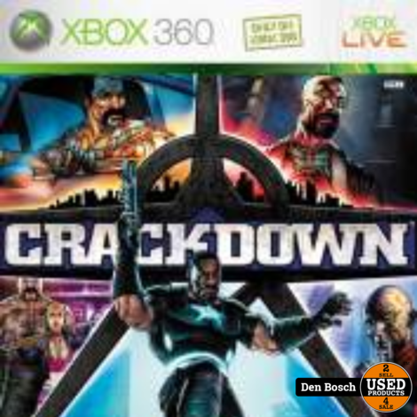 CrackDown - XBox 360 Game