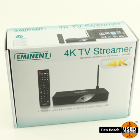 Eminent EM7680 4K TV Streamer met WiFi