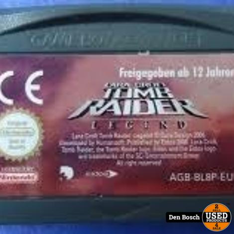 Tomb Raider Legend - GB Game