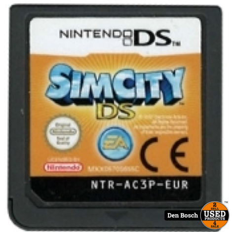 Sim City - DS Game