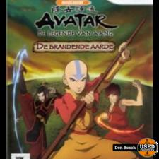 Avatar de Legende van Aang, De Brandende Aarde - Wii Game