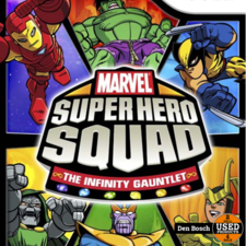 Marvel Super Hero Squad Infinity Gauntlet - Wii Game
