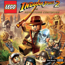 Lego Indiana Jones 2 The Adventure Continues - Wii Game