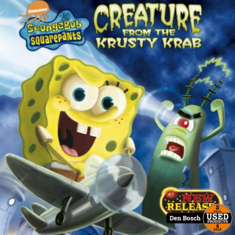 Spongebob Creature from the Krusty Krab - Wii Game