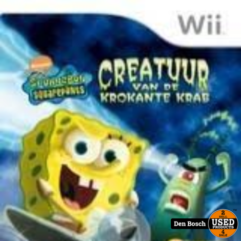 Creature from the Krusty Krab - Wii Game