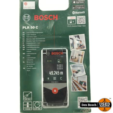 Bosch PLR 50 C Laserafstandsmeter (Sealed)
