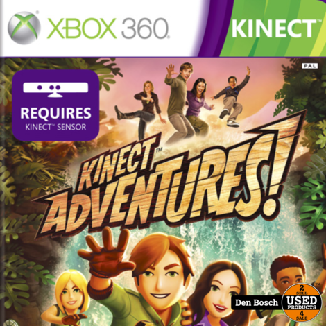 Kinect Adventures - Xbox 360 Game