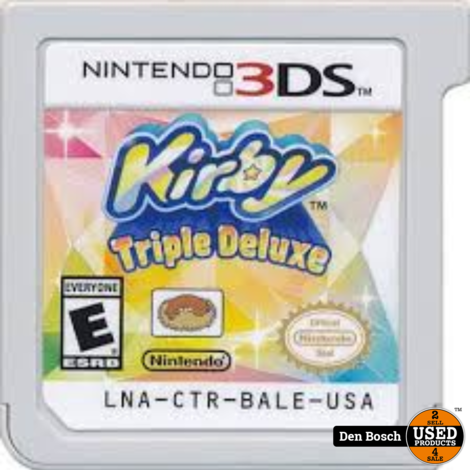 Kirby Triple deluxe - 3DS Game