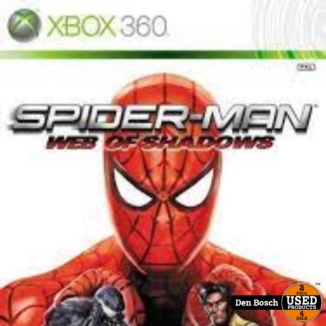 Spider Man Web of Shadows - XBox 360 Game
