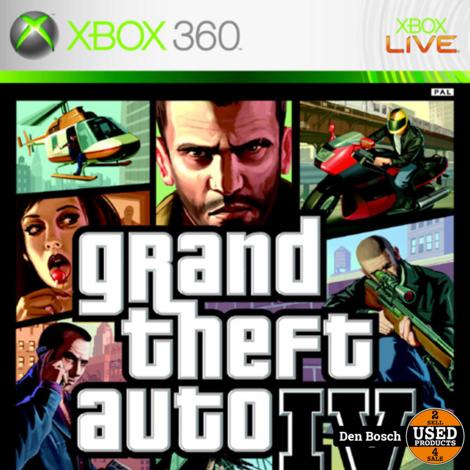 Grand Theft Auto IV - XBox 360 Game