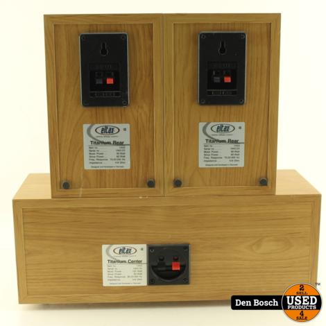 Eltax Speakerset Sub Center en 2 Frontspeakers