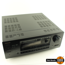 Onkyo TX-DS676 Receiver Zonder Afstandsbediening