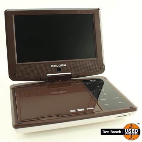 Salora Portable Oplaadbare DVD Speler met USB