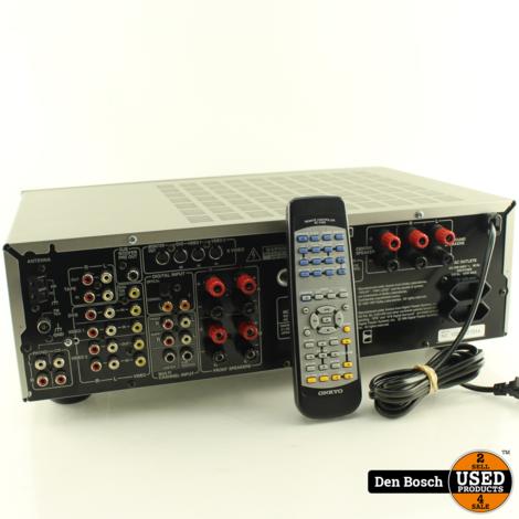 Onkyo TX-DS494 Receiver + Afstandsbediening