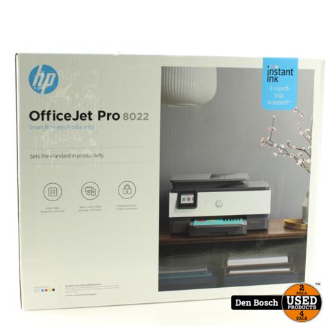HP Officejet Pro 8022 Printer (Nieuw, Sealed in Doos)
