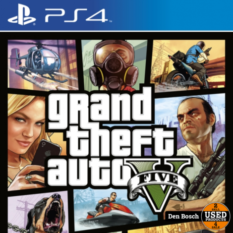 Grand Theft Auto 5 - PS4 Game