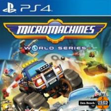 Micro Machines World Series - PS4 Game