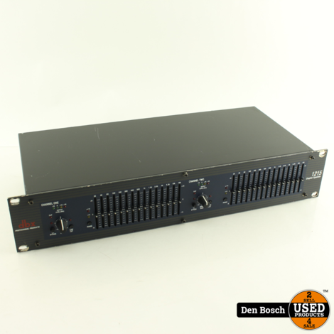 DBX 1215 Dual 15-Band Graphic Equalizer