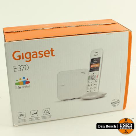 Gigaset E370 Single DECT Seniorentelefoon