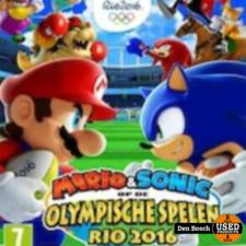Mario & Sonic op de olympische spelen Rio 2016 - wii U - Wii U game