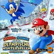Mario and Sonic op de Olympische Winterspelen Sotsji 2014 - Wii U game
