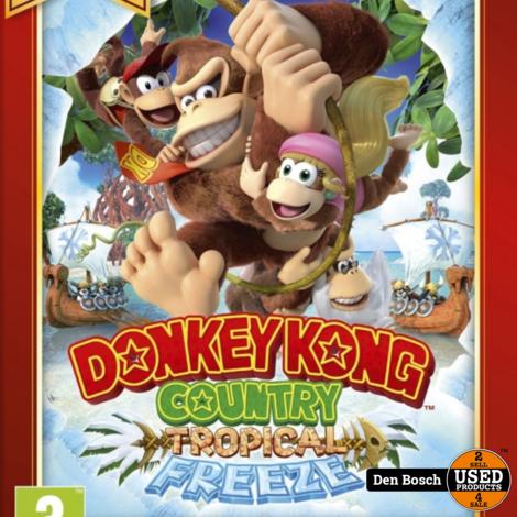 Donkey Kong Country Tropical Freeze (Nintendo Selects) - Wii U game