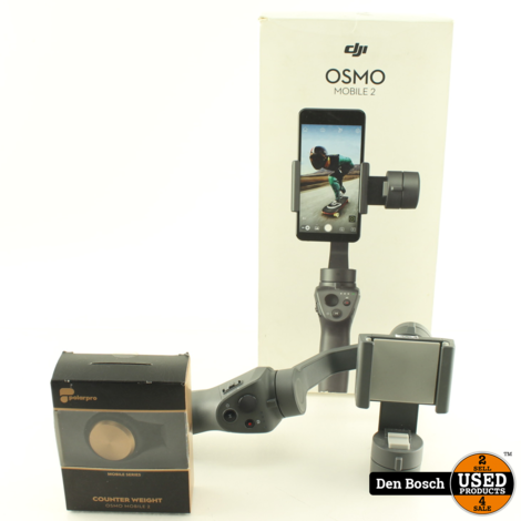 DJI Osmo Mobile 2 + Counterweight van Polarpro