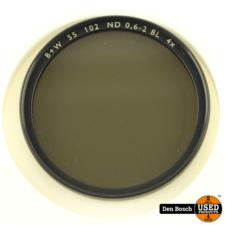 B+W Grijsfilter 55 102 ND 0,6-2 BL 4x