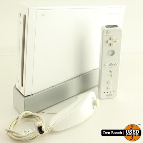 Nintendo Wii + Wii Remote en Nunchuck