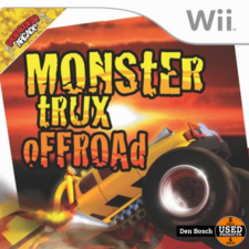 Monster Trux offroad - Wii Game