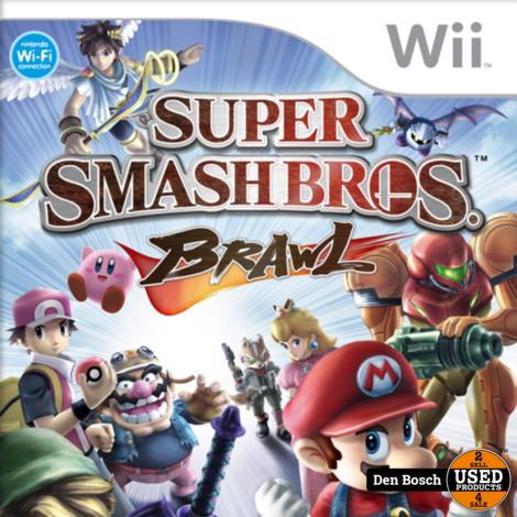 Super Smash Bros Brawl - Wii Game