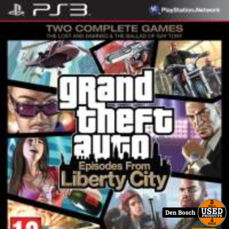 Grandt Theft Auto Episodes From Liberty City - PS3 Game
