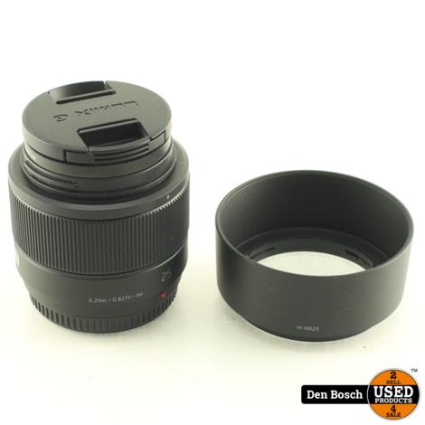 Panasonic H-H025  25mm Prime Lens met Micro 4/3 Mount