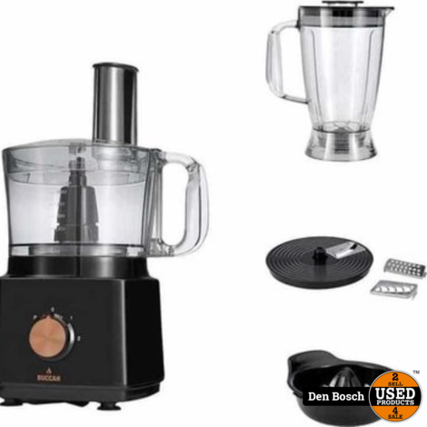 Buccan Reliance 8-in-1 Keukenmachine (Nieuw)