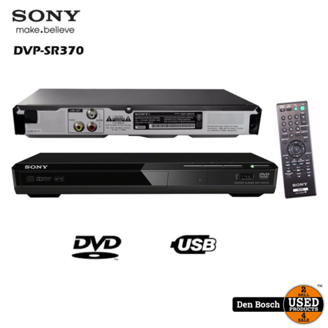 Sony DVP-SR370 - DVD-speler met SCART
