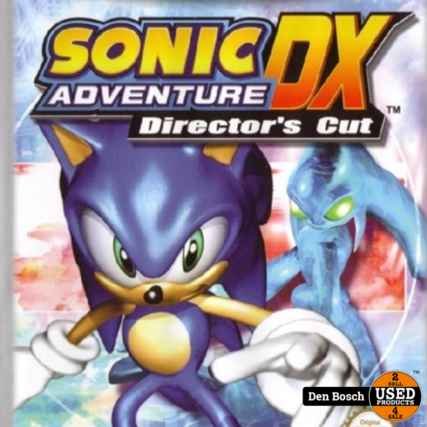 Sonic Adventure 2 Battle +Sonic Adventure DX Director's Cut Disc - GC Game