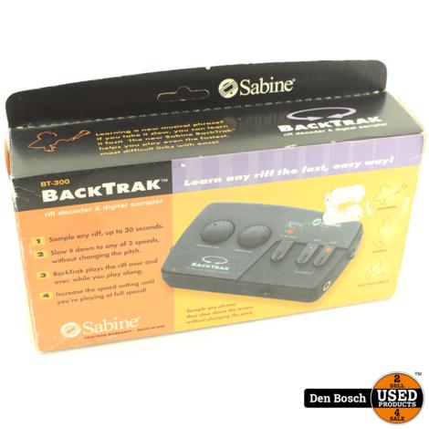 Sabine BT-300 BackTrak Riff Decoder/Sampler