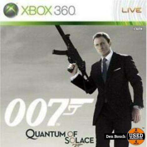 Quantum of Solace 007 - XBox 360 Game