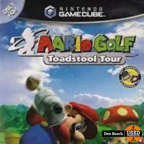 Mario Golf Toadstool Tour - GC Game