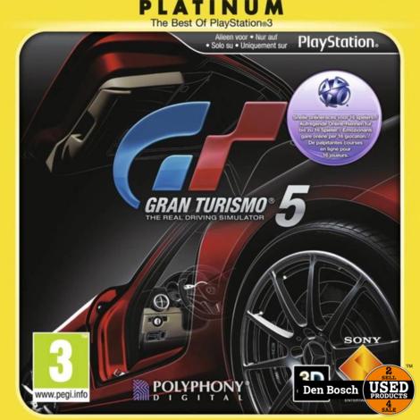 Gran Turismo 5 (platinum) - PS3 Game