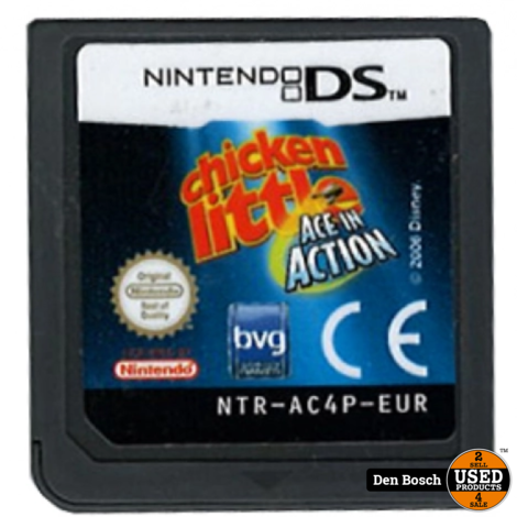Chicken Little Ace in Action (losse cassette) - DS Game