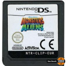 Monsters vs. Aliens (losse cassette) - DS Game
